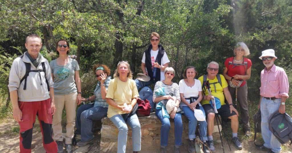 Frühlingswanderung am Hymittos